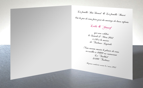 wedding card Love