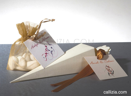 muslim wedding favor tag